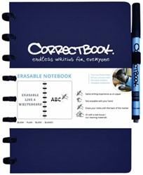 Correctbook A5 blauw lijn 40blz