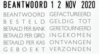 Woord-datumstempel Colop 04000 met 12 teksten-2