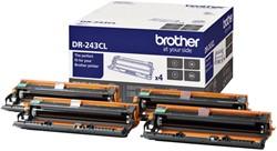 Drum Brother DR-243CL zwart + 3 kleuren