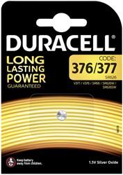 Batterij Duracell knoopcel 377 zilver oxide Ø6,8mm 1,5V-18mA