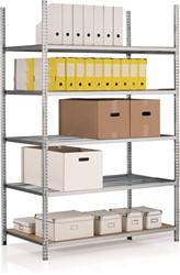 Buisrekken - H. 200 cm, L. 100 cm - 5 tablettes - Basiselementen