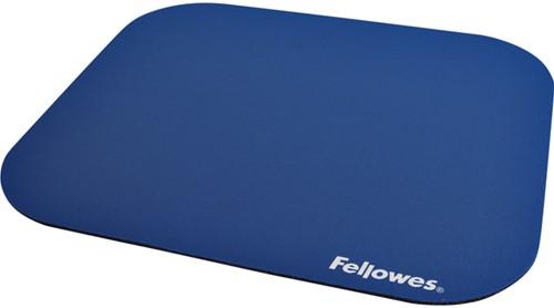 Muismat Fellowes standaard 200x228x4mm blauw