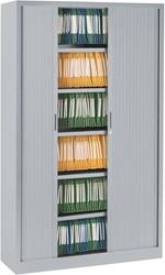 Roldeurkast Ariv H. 198 x B. 120 cm - alugrijs