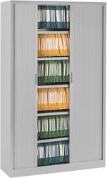 Roldeurkast Ariv H. 198 x B. 120 cm - grijs