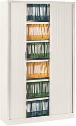 Roldeurkast Ariv H. 198 x B. 120 cm - wit