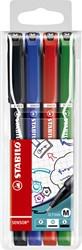 Fineliner Stabilo Sensor 187/4 assorti