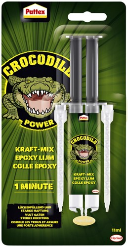 2 componentenlijm Pattex Crocodile Epoxy