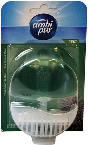 Toiletblok Ambi Pur tea tree en pine navulbaar