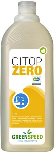 Afwasmiddel Greenspeed Citop Zero 1l
