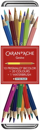 "Caran d'ache Kleurpotloden Prismalo Bicolor aquarel ""limited edition"""