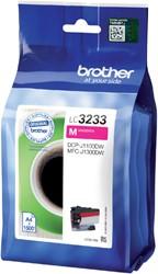Inkcartridge Brother LC-3233 rood