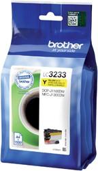 Inkcartridge Brother LC-3233 geel