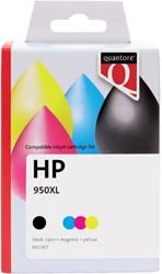 Inkcartridge Quantore HP C2P43AE 950XL+951XL zwart + 3 kleuren