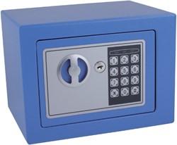 Kluis Pavo mini 230x170x170mm elektronisch blauw