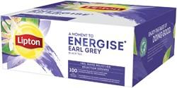 Thee Lipton Energise Earl Grey 100stuks