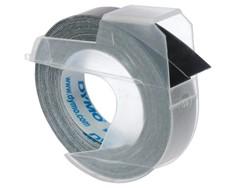 Labeltape Dymo rol 9mmx3M glossy vinyl prof zwart