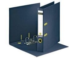 Ordner Leitz recycle 1003 A4 50mm karton donkerblauw