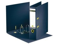 Ordner Leitz recycle 1004 A4 80mm karton donkerblauw