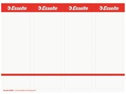 Rugetiket Esselte PC printbaar 20820 49x158 breed wit