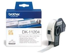 Etiket Brother DK-11204 17x54mm 400stuks