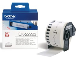 Etiket Brother DK-22223 50mm thermisch 30-meter wit papier