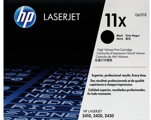 Tonercartridge HP Q6511X 11X zwart HC