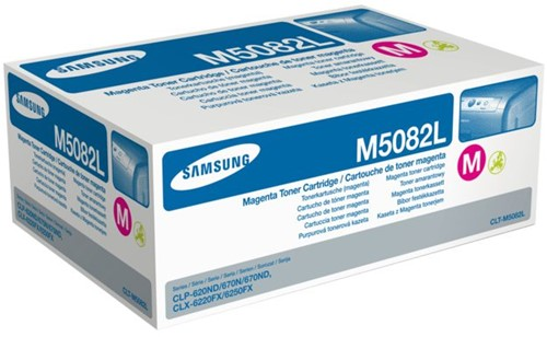Tonercartridge Samsung CLT-M5082L rood HC