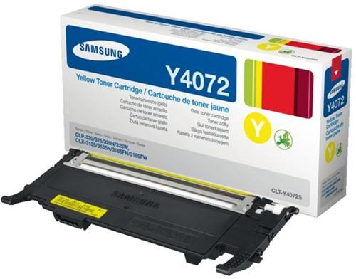 Tonercartridge Samsung CLT-Y4072S geel