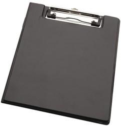 Klembordmap LPC A5 karton met klem + penlus zwart