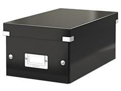 Dvd Box Leitz Click & Store 190x135x320mm zwart