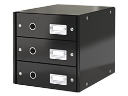 Ladenbox Leitz Click & Store 3 laden 290x283x360mm zwart
