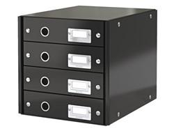 Ladenbox Leitz Click & Store 4 laden 290x283x360mm zwart