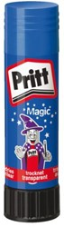 Lijmstift Pritt Magic 20gr blauw op blister