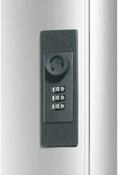 Sleutelkast Durable 1966 aluminium 36haken 310x305x125mm
