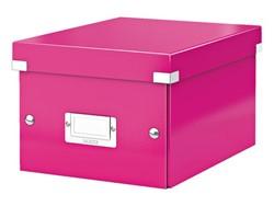 Opbergbox Leitz Click & Store 200x148x250mm roze