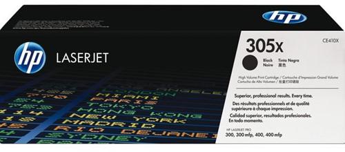 Tonercartridge HP CE410X 305X zwart HC