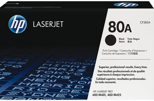 Tonercartridge HP CF280A 80A zwart