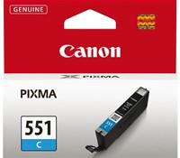 Inkcartridge Canon CLI-551 blauw