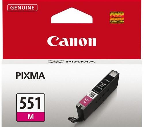 Inkcartridge Canon CLI-551rood