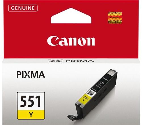 Inkcartridge Canon CLI-551 geel