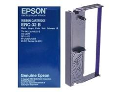 Lint Epson S015371 voor ERC32 nylon zwart