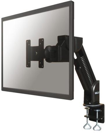 """Monitorarm Neomounts D600 10-30"""" met klem zwart"""