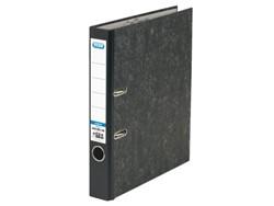 Ordner Elba Smart A4 50mm karton zwart gewolkt