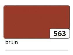 Etalagekarton folia 48x68cm 400gr nr563 bruin