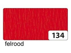 Crepepapier Folia 250x50cm nr134 felrood