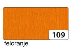 Crepepapier Folia 250x50cm nr109 oranje