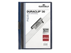Klemmap Durable 2200 A4 3mm nachtblauw