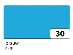Zijdevloeipapier Folia 50x70cm 20g nr30 blauw set à 5 vel