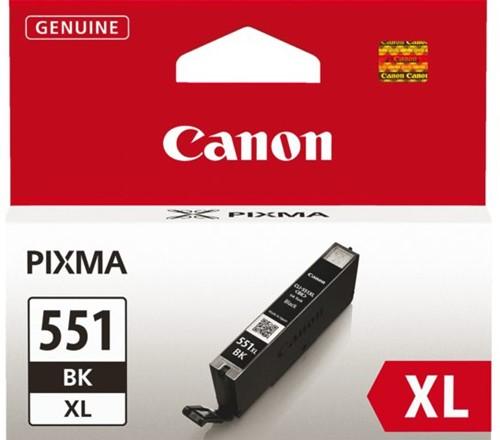 Inkcartridge Canon CLI-551XL zwart HC