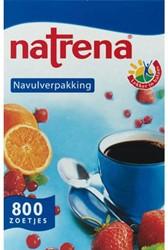 Zoetjes Natrena navulling met 800 stuks